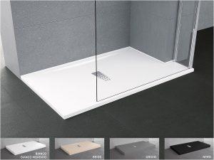piatti doccia misure e prezzi Il meglio di Piatto doccia Novellini Custom da appoggio filo pavimento