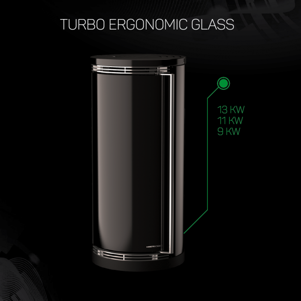 TURBO ERGONOMIC GLASS 9:11:13 KW