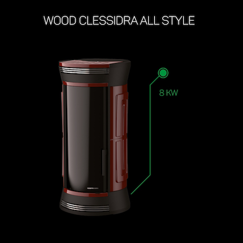 WOOD CLESSIDRA ALL STYLE 8KW